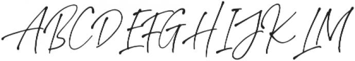 StephenGillion otf (400) Font UPPERCASE
