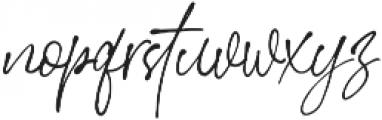 StephenGillion otf (400) Font LOWERCASE