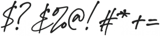 StephenGillion otf (700) Font OTHER CHARS