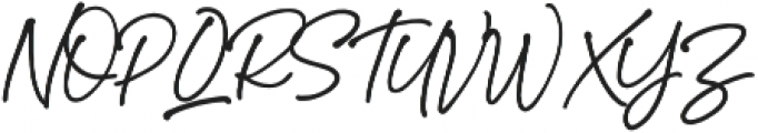 StephenGillion otf (700) Font UPPERCASE