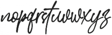 StephenGillion otf (700) Font LOWERCASE