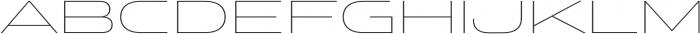 Stereo Gothic 100 otf (100) Font UPPERCASE