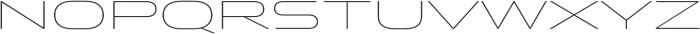 Stereo Gothic 100 otf (100) Font LOWERCASE
