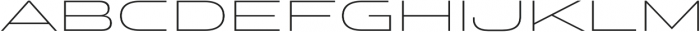 Stereo Gothic 150 otf (400) Font LOWERCASE