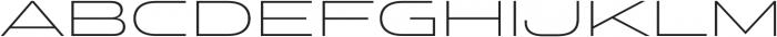 Stereo Gothic 200 otf (200) Font UPPERCASE