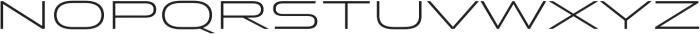 Stereo Gothic 250 otf (400) Font LOWERCASE