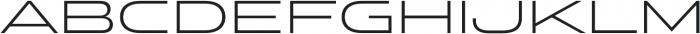 Stereo Gothic 300 otf (300) Font UPPERCASE