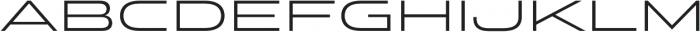 Stereo Gothic 300 otf (300) Font LOWERCASE