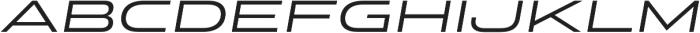 Stereo Gothic 400 Italic otf (400) Font LOWERCASE