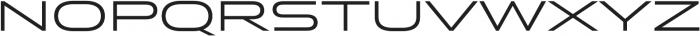 Stereo Gothic 400 otf (400) Font UPPERCASE