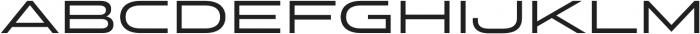 Stereo Gothic 500 otf (500) Font UPPERCASE