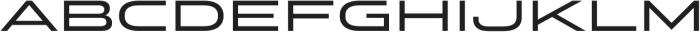 Stereo Gothic 500 otf (500) Font LOWERCASE