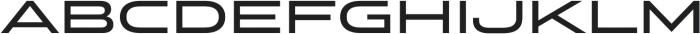 Stereo Gothic 600 otf (600) Font UPPERCASE