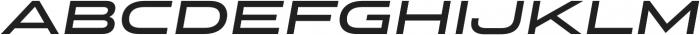 Stereo Gothic 650 Italic otf (400) Font UPPERCASE