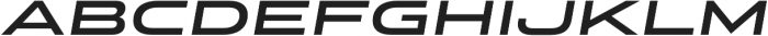 Stereo Gothic 650 Italic otf (400) Font LOWERCASE