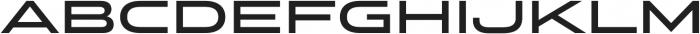 Stereo Gothic 650 otf (400) Font UPPERCASE