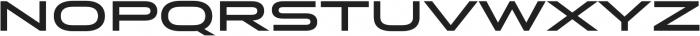 Stereo Gothic 700 otf (700) Font UPPERCASE