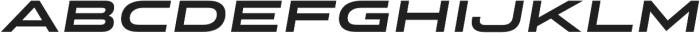 Stereo Gothic 750 Italic otf (400) Font LOWERCASE
