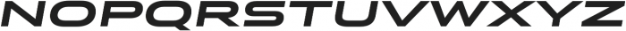 Stereo Gothic 800 Italic otf (800) Font LOWERCASE