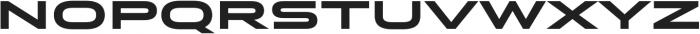 Stereo Gothic 850 otf (400) Font LOWERCASE