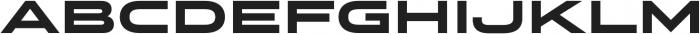 Stereo Gothic 900 otf (900) Font UPPERCASE
