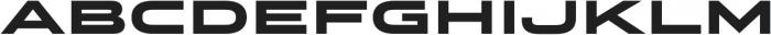 Stereo Gothic 900 otf (900) Font LOWERCASE