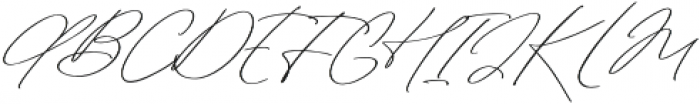 Sterling Silver Script otf (400) Font UPPERCASE