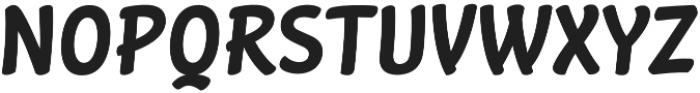 Stickout otf (400) Font UPPERCASE