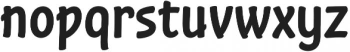 Stickout otf (400) Font LOWERCASE