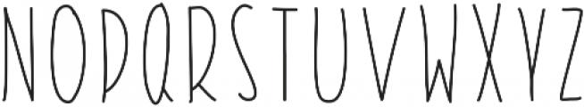 StiltsBalanced ttf (400) Font UPPERCASE