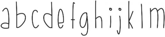 StiltsBalanced ttf (400) Font LOWERCASE