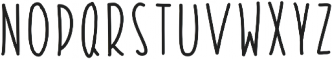 StiltsBalancedBold ttf (700) Font UPPERCASE