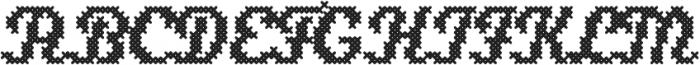 Stina Regular otf (400) Font UPPERCASE