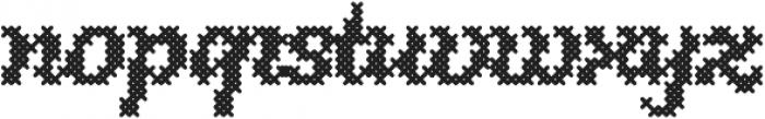 Stina Regular otf (400) Font LOWERCASE