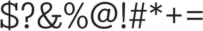 Stint Pro Book otf (400) Font OTHER CHARS