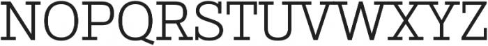 Stint Pro Book otf (400) Font UPPERCASE