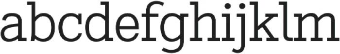 Stint Pro Book otf (400) Font LOWERCASE