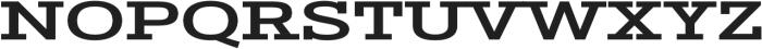 Stint Ultra Expanded Pro Bold otf (700) Font UPPERCASE