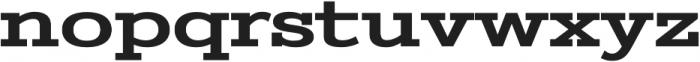 Stint Ultra Expanded Pro Bold otf (700) Font LOWERCASE