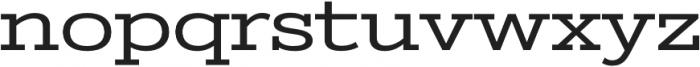 Stint Ultra Expanded Pro Regular otf (900) Font LOWERCASE