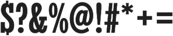 Stint UltraCond Pro Bold otf (700) Font OTHER CHARS