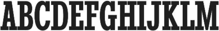 Stint UltraCond Pro Bold otf (700) Font UPPERCASE