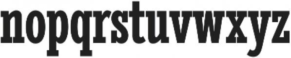 Stint UltraCond Pro Bold otf (700) Font LOWERCASE