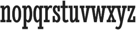 Stint UltraCond Pro Regular otf (400) Font LOWERCASE