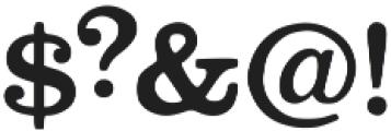 Stiquez otf (400) Font OTHER CHARS