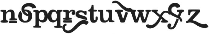 Stiquez otf (400) Font LOWERCASE