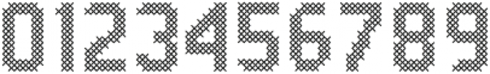 Stitching-Love otf (400) Font OTHER CHARS