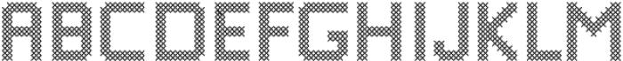 Stitching-Love otf (400) Font UPPERCASE