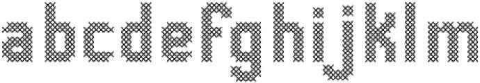 Stitching-Love otf (400) Font LOWERCASE