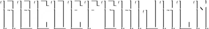 Stockport ShadowFX otf (400) Font UPPERCASE